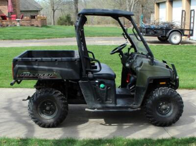 2010 Polaris Ranger, Diesel Powered Utility Vehicle, VIN 4XATH90D2B2172395, Powers On, 904cc Engine, New Tires