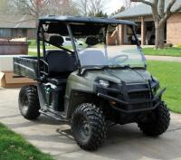 2010 Polaris Ranger, Diesel Powered Utility Vehicle, VIN 4XATH90D2B2172395, Powers On, 904cc Engine, New Tires - 2