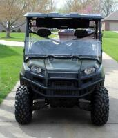 2010 Polaris Ranger, Diesel Powered Utility Vehicle, VIN 4XATH90D2B2172395, Powers On, 904cc Engine, New Tires - 3