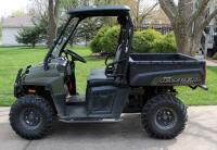 2010 Polaris Ranger, Diesel Powered Utility Vehicle, VIN 4XATH90D2B2172395, Powers On, 904cc Engine, New Tires - 5