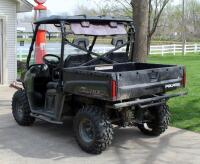 2010 Polaris Ranger, Diesel Powered Utility Vehicle, VIN 4XATH90D2B2172395, Powers On, 904cc Engine, New Tires - 6