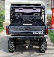 2010 Polaris Ranger, Diesel Powered Utility Vehicle, VIN 4XATH90D2B2172395, Powers On, 904cc Engine, New Tires - 7