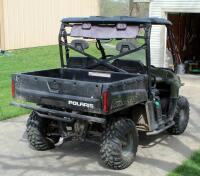 2010 Polaris Ranger, Diesel Powered Utility Vehicle, VIN 4XATH90D2B2172395, Powers On, 904cc Engine, New Tires - 8