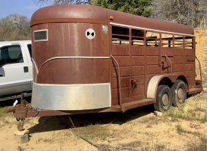 16ft WW Livestock Trailer