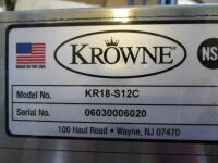 Krowne KR18-S12C Under Bar Hand Sink - 2