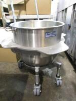 HD Commercial Mixer Bowl on Cart - 3