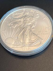 2013 Uncirculated Walking Lady Liberty Silver Dollar