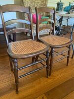 Cane Bottom Chairs - 2