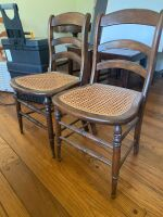 Cane Bottom Chairs - 3