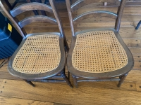 Cane Bottom Chairs - 4