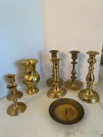 Brass Candle Holders - 5