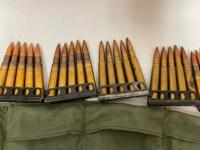 303 British on Strippers and Bandolier - 50 rounds - 4