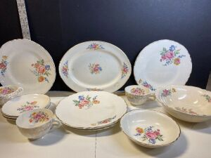 VINTAGE HOMER LAUGHLIN 'NAUTILUS' CHINA (13)