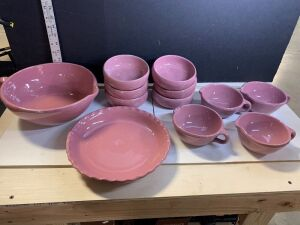 PINK BYBEE POTTERY COLLECTION