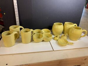 YELLOW BYBEE POTTERY COLLECTION