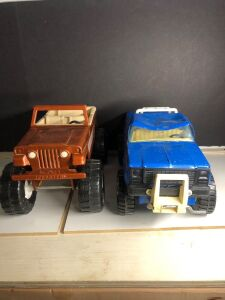 TONKA JEEPSTER AND NYLINT CHEVY RHINO TRUCK
