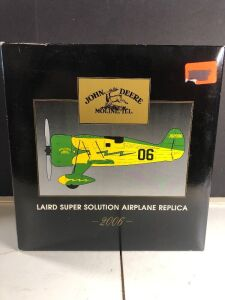 JOHN DEERE 2006 'LAIRD SUPER SOLUTION' AIRPLANE REPLICA