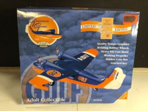 GEARBOX COLLECTIBLE 'GULF 1938 GRUMMAN GOOSE' LIMITED EDITION COLLECTIBLE COIN BANK
