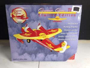 GEARBOX COLLECTIBLE 'SHELL 1938 GRUMMAN GOOSE' LIMITED EDITION COLLECTIBLE COIN BANK