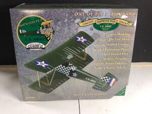 GEARBOX COLLECTIBLE 'U.S. ARMY 1917 SOPWITH PUP' LIMITED EDITION COLLECTIBLE COIN BANK