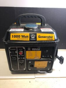 'STEELE PRODUCTS' 1000 WATT 71cc 2-STROKE PORTABLE GENERATOR
