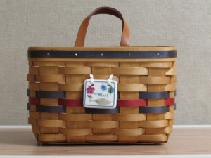 Longaberger Mail Basket
