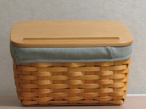 Longaberger Recipe/Basket w/insert