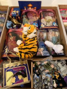 Disney themed dolls and action figures from Frozen, Aladdin, The Hunchback of Notre Dame and more!