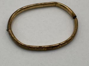VINTAGE LUSTERN BABY BRACELET. STAMPED 10K GE. TOTAL WEIGHT 3.2 G.NOT TESTED