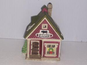 New Lot Added.... DEPARTMENT 56 HERITAGE VILLAGE COLLECTION,HAND PAINTED POCELAIN, VERY COLLECTIBLE PIECE, LIGHT CORD MISSING