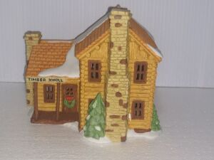 New Lot Added....DEPARTMENT 56 HERITAGE VILLAGE COLLECTION,HAND PAINTED POCELAIN, VERY COLLECTIBLE PIECE, LIGHT CORD MISSING.