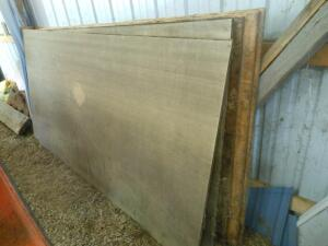 4' x 8' tongue and groove plywood (5 sheets)