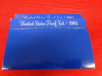 (8) U.S. Proof Sets:  Two Ea., 1983, 1984, 1985, and 1986