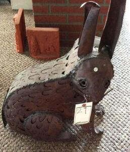 Metal Art - Rabbit