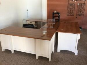 U Shaped Desk, Single Desk