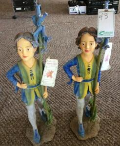 2 Flower Fairy Figurines