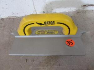 "Gator GF10825  3/8"" W x 3/4"" D x 1/4"" R Double, 8""x10"" Hand Groover"