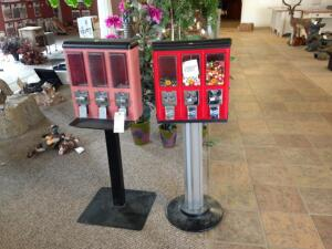2 Candy Dispensers