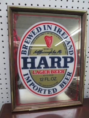 Harp Lager Beer Mirror