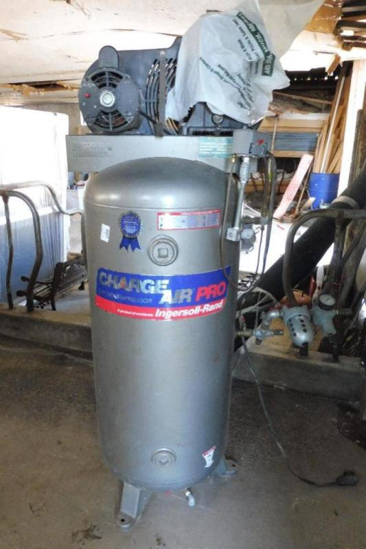 ingersoll rand charge air pro upright air compressor