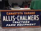 Allis Chalmers Tractors and Farm Equipment Sign
