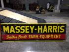 Massey-Harris Better Built Farm Equipment Sign