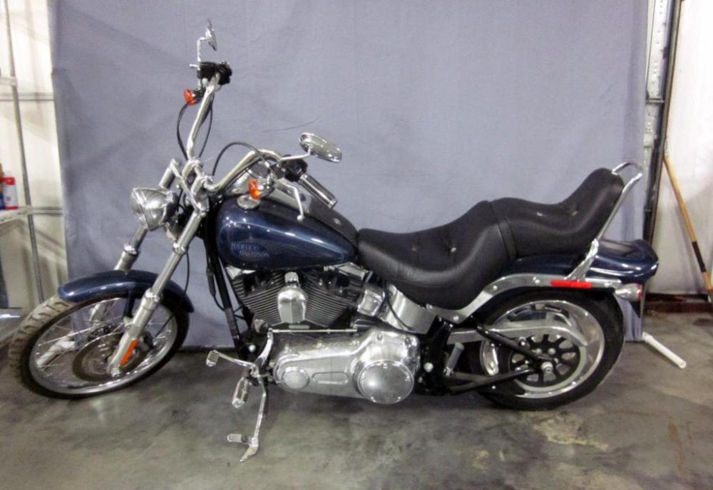 2009 Harley-Davidson FXSTC Softail Custom Motorcycle, 5530 Miles ...