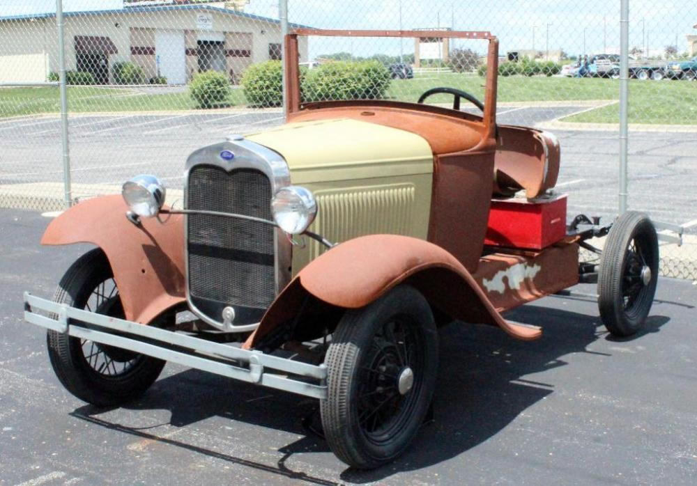 1930 Ford Model A Chassis Engine Many Of The Parts And Info To Put