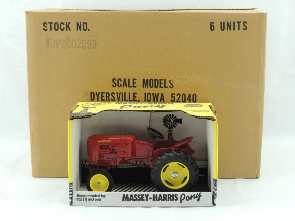 1/16th Scale Models Massey-Harris Pony (Case of 6)