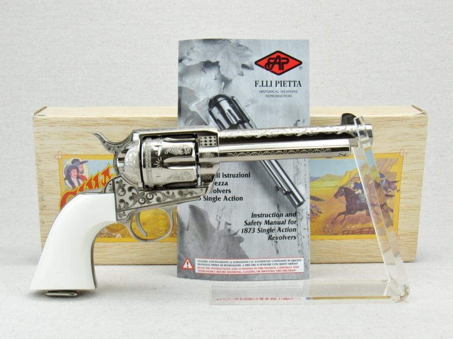Cimarron Firearms Frontier LSR Revolver Patton Eng  Pistol