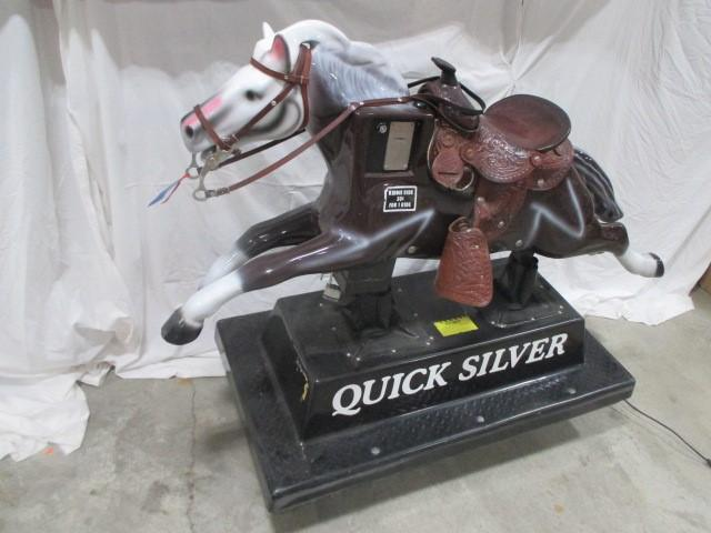 Quicksilver coin-operated kiddie ride -