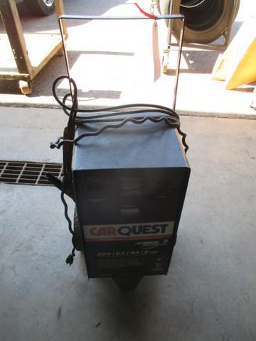 Carquest 7100 Professional Battery Charger And Starter 200 Engine