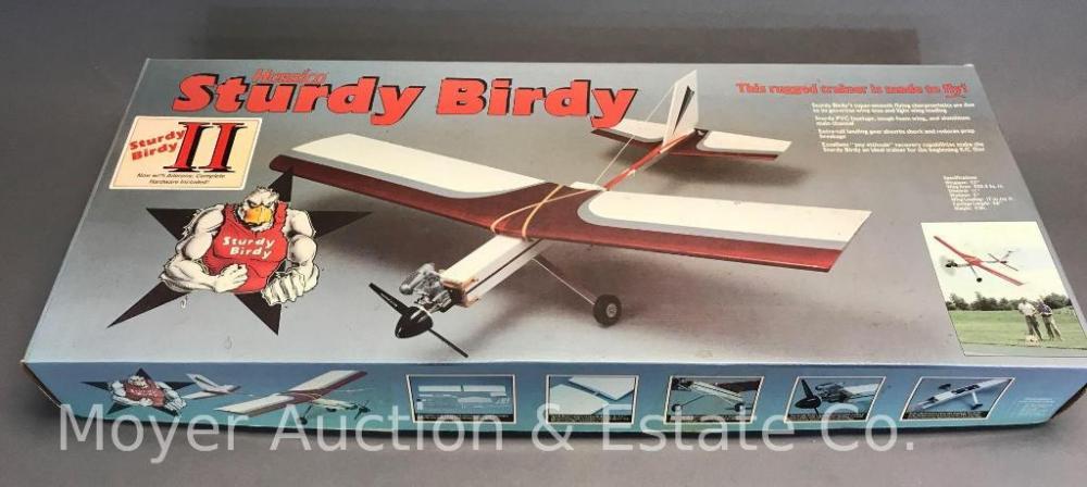 Hobbico 'Sturdy Birdy II' RC Model Airplane Kit, 53