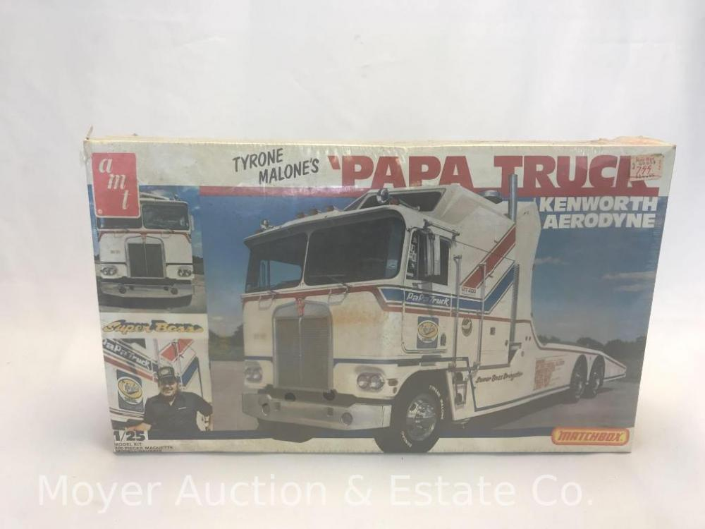 New AMT Kenworth Aerodyne Papa Truck Model Kit